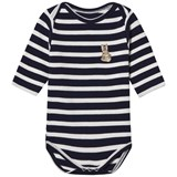 Maison Labiche Navy Bunny Embroidered Body