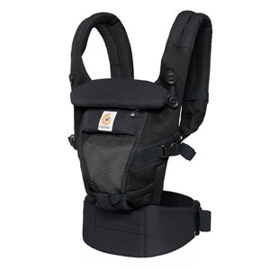 ERGOBABY | Ergobaby Black Performance Adapt Cool Air Mesh Carrier One Size | Goxip