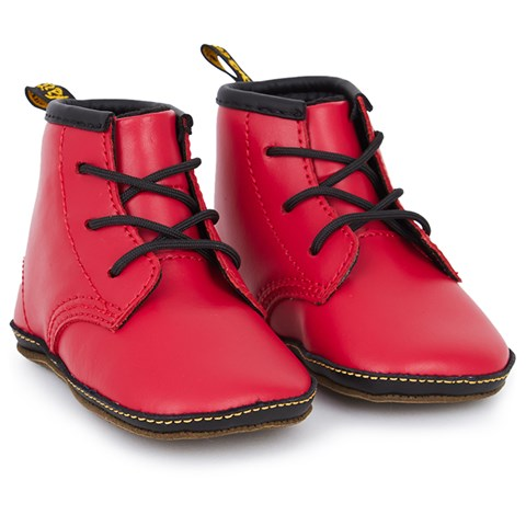 3729b1fee Dr. Martens Red Core Crib Leather Booties   AlexandAlexa