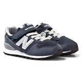 New Balance Navy Junior Lifestyle Trainers