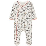 Little Marc Jacobs Off White Owl Print Babygrow