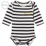 Maison Labiche EXCLUSIVE Blue and White Striped Long Sleeve Body