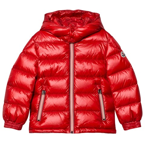 red moncler puffer coat