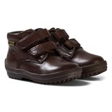 Naturino Brown Leather and Lined Velcro Boots