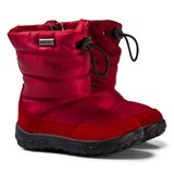 Naturino Red Print Poznurr Snow Boots