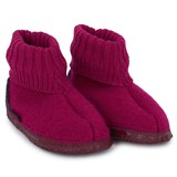 Giesswein Pink & Purple Kramsach Slippers
