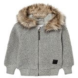 Molo Ursula Fleece Jacket Grey melange