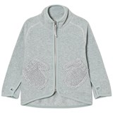 Molo Grey Sky Ushi Fleece Jacket