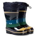 Molo Sejer Wellies Ocean stripe