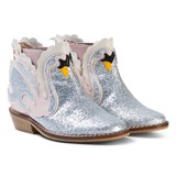 Stella McCartney Kids Pale Pink Swan Lily Boots