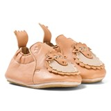 Easy Peasy Pink Leather Sheep BluBlu Shoes