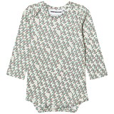 Gardner and The Gang Cream Hopes and Dream Print Long-Sleeved Romper
