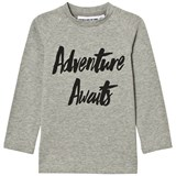 Gardner and The Gang Grey Adventure Awaits Long Sleeved T-Shirt