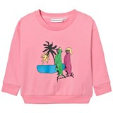 Gardner and The Gang Candy Pink Printed Sweatshirt