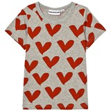 Gardner and The Gang Grey Heart Print Tee