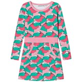 Gardner and The Gang Pink and Green Printed Jersey Dress