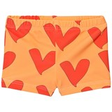 Gardner and The Gang Yellow Heart Print Swim Pants