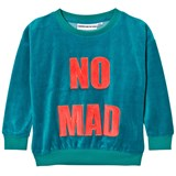 Gardner and The Gang Teal Blue Velour Sweatshirt