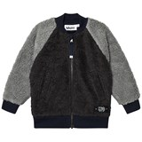 Molo Dark Grey Hooley Fleece Jacket