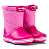 Crocs Kids Crocband LodgePoint Boot K Candy Pink/Party Pink