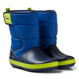 Crocs Kids LodgePoint Snow Boot K Blue Jean/Navy