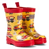 Hatley Yellow Trucks Print Wellies