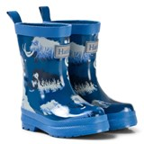 Hatley Blue Mammoth Print Wellies