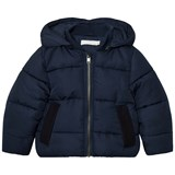 Stella McCartney Kids Navy Tremblay Puffer Coat