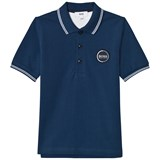 BOSS Navy Branded Polo