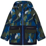 Stella McCartney Kids Navy Camo Ski Jacket