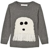 Stella McCartney Kids Grey Ghost Jumper