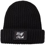 Little Remix Black Junior Molly Wolf Hat