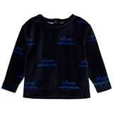 Tinycottons Dark Navy and Blue Shoo Worries Sweatshirt