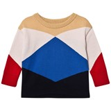 Tinycottons Triangle Print Geometric Sweater