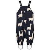 Tinycottons Dark Navy and Beige Llamas Snow Pants