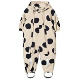 Tinycottons Beige and Black Spotted One-Piece