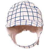 Tinycottons Pale Pink and Blue Grid Snow Hat