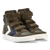 Hummel Stadil Leather Jr Olive Night