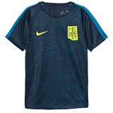 Nike Navy Dry Neymar Squad Short Sleeve Top