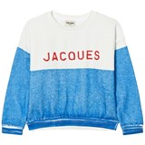 Bobo Choses Blue and White Jacques Sweatshirt