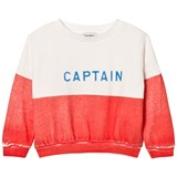 Bobo Choses Red Captain Boat Sweatshirt