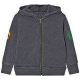 Bobo Choses Grey Fish Hooded Sweatshirt