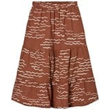 Bobo Choses Burnt Orange Tide Maxi Skirt