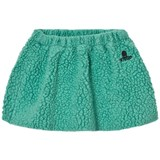 Bobo Choses Mint Green Sheepskin Skirt