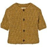 Bobo Choses Yellow Octopus Knitted Cardigan