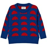Bobo Choses Blue Crests Knitted Jumper