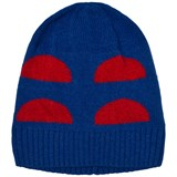 Bobo Choses Blue and Red Crests Beanie