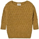 Bobo Choses Mustard Octopus Knitted Jumper