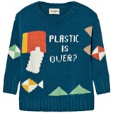 Bobo Choses Plastic is Over? Knitted Jumper