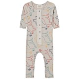 Bobo Choses Beige Seal Print Jumpsuit